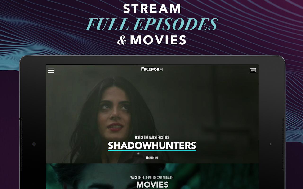 Amazon Freeform – watch live TV stream full episodes
