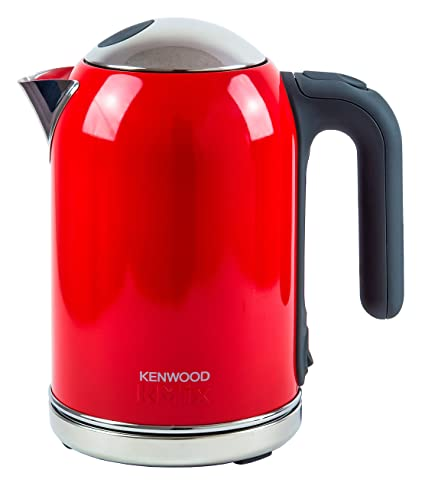Kenwood SJM030 - Calentador de agua, acero inoxidable, color rojo Bermellón