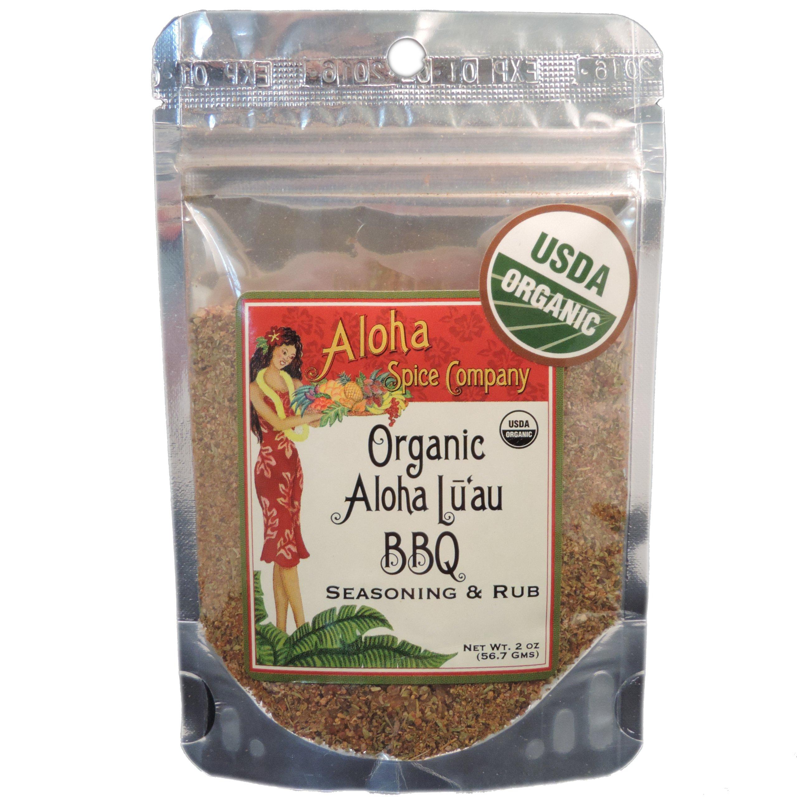 Organic Aloha Luau BBQ Seasoning & Rub (4 Pack)