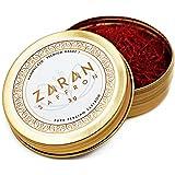 Zaran Saffron, (3 grams) Premium, All-Red Saffron (Highest Quality Saffron for your Tea, Paella, Risotto, and Persian Rice) Color 270+, Super Negin Saffron
