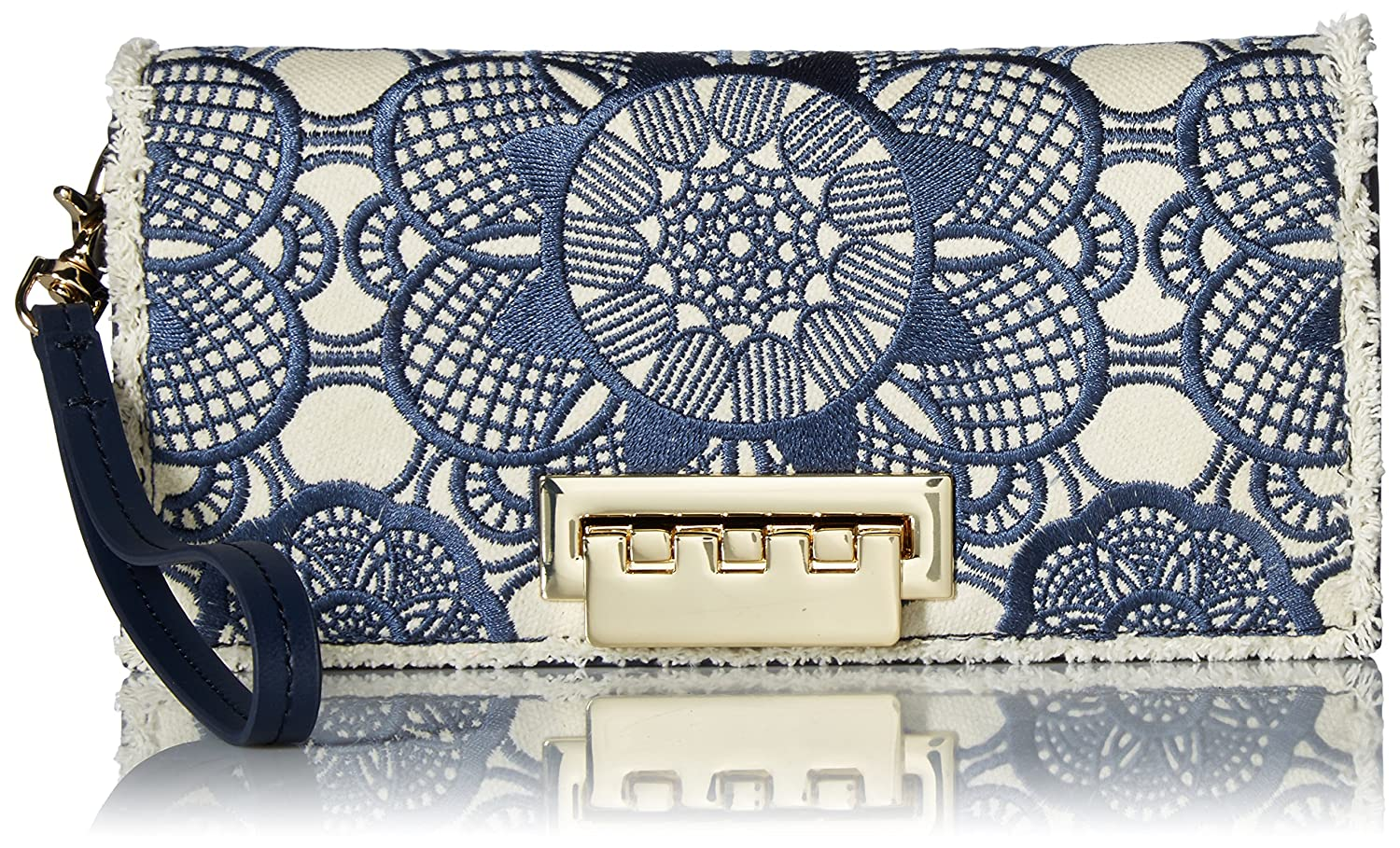 ZAC Zac Posen Earthette Wristlet, Embroider Tide ZP2061-401