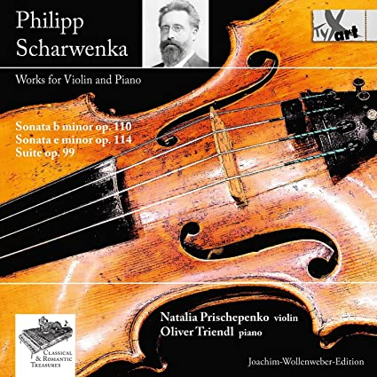 Philipp Scharwenka: Works for Violin & Piano