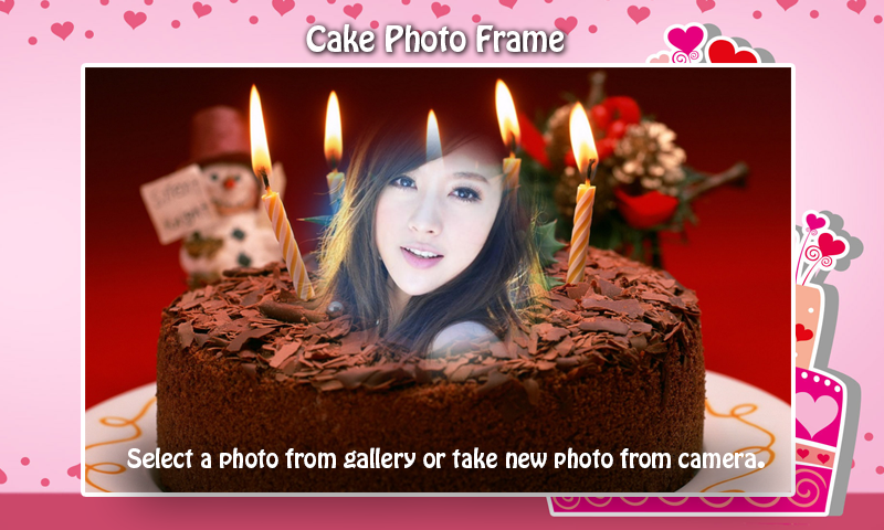 Amazon Cake Photo Frame Appstore For Android