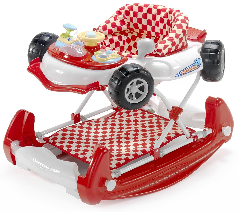 Andador con forma de coche, de My Child rojo rosso: Amazon.es: Bebé