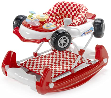 Andador con forma de coche, de My Child rojo rosso: Amazon ...