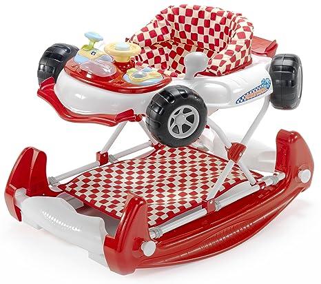 Andador con forma de coche, de My Child rojo rosso: Amazon ...