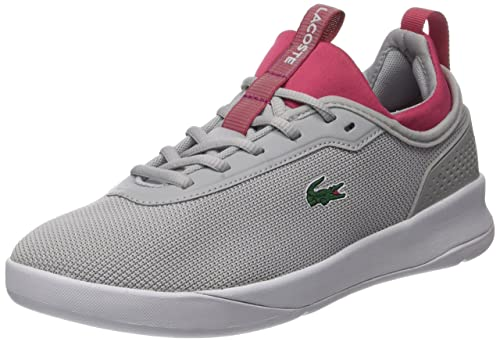 Womens Lt Spirit 2.0 317 1 Bass Trainers, Gray Lacoste