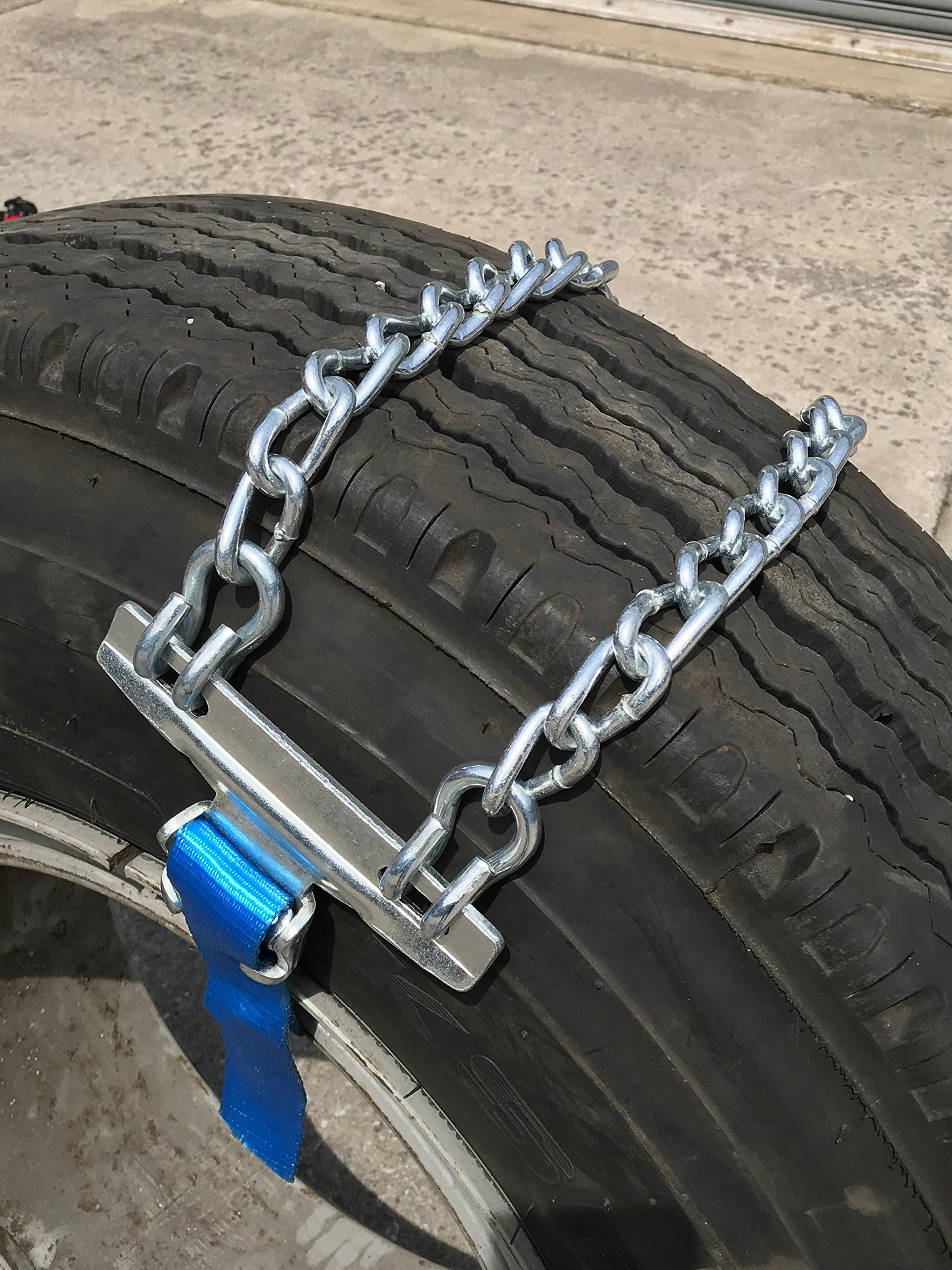 TireChain.com Emergency Strap tire chains for Large Trucks - fits tire sizes larger than 275 mm-, priced per pair by TireChain.com (Image #2)