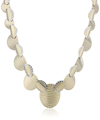 """10k Yellow Gold Necklace, 15.5""""+0.5"""" Extender"""