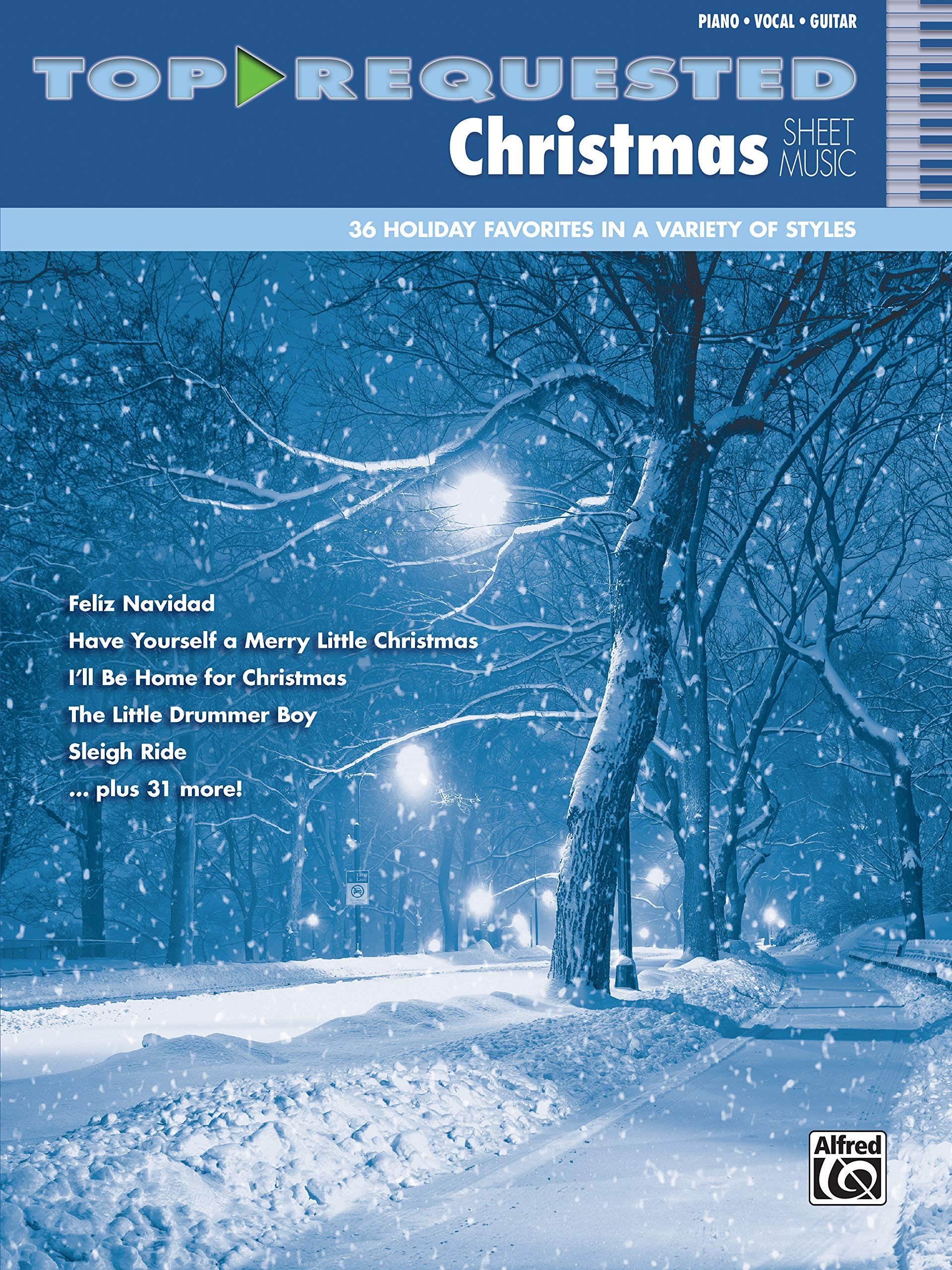 Top-Requested Christmas Sheet Music: Piano/Vocal/Guitar (Top