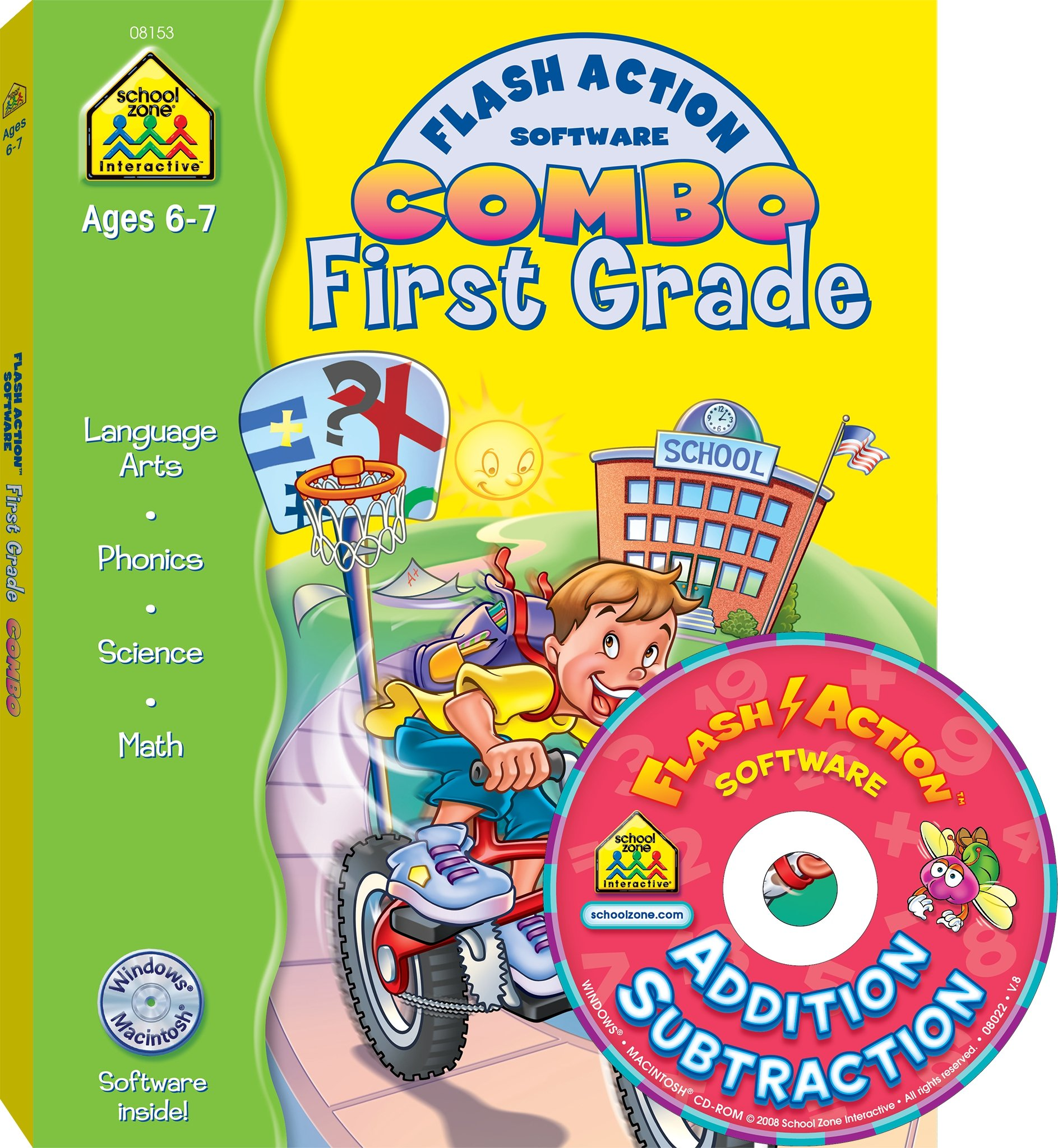 First Grade Flash Action Combo (Flash Action Software)