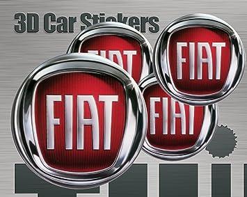 50mm 3D Stickers 4 pcs Logo Imitation Center Cap Wheel Trims