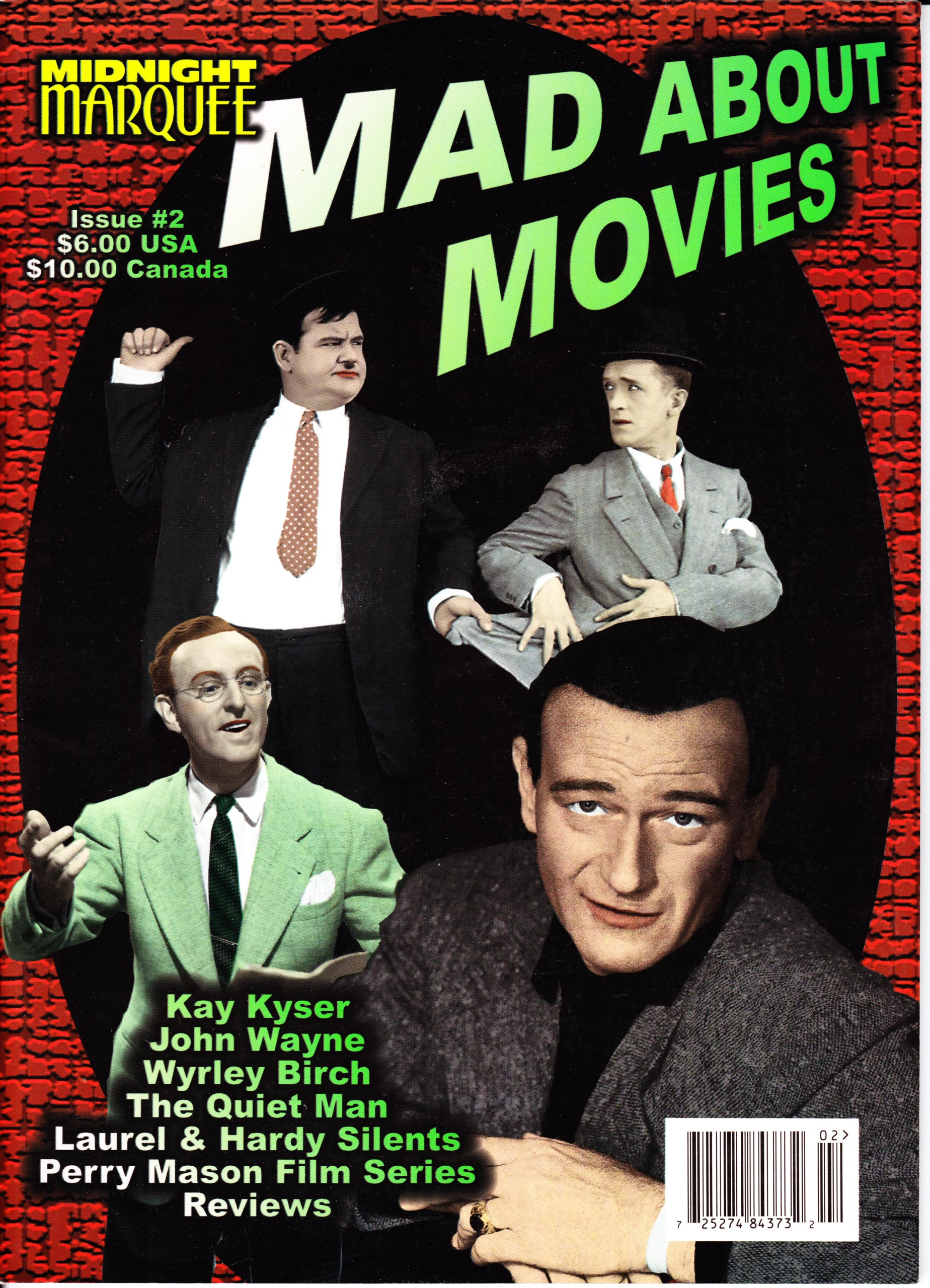 Midnight Marquee Mad About Movies, Issue #2 pdf
