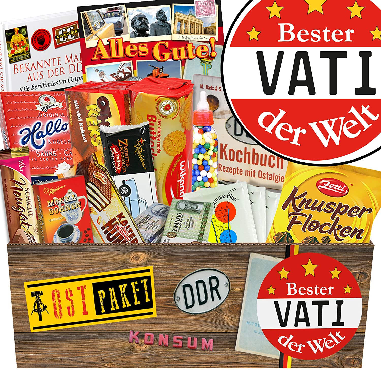 Vati Geschenkbox aus der DDR - Süssigkeiten Box DDR - inkl. Buch ...