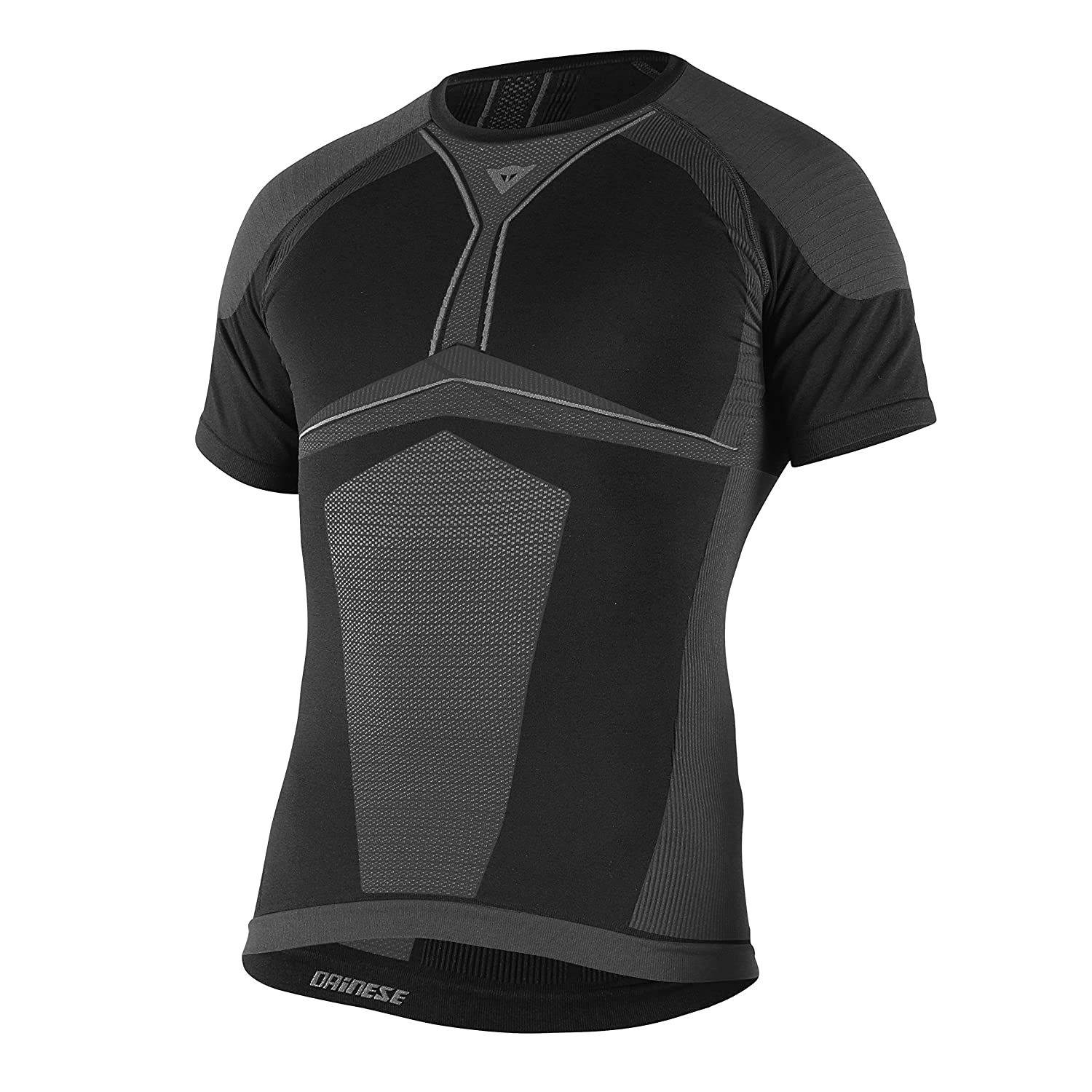 Dainese-D-CORE DRY TEE SS, Noir/Anthracite, Taille M 1915928_620_L