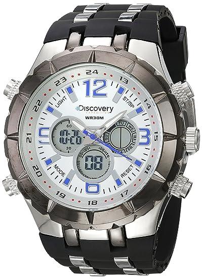 f2ae4f649a86 Discovery Expedition DISC 6001 B Reloj Redondo