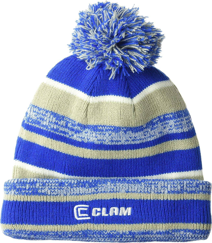 Clam Corporation 12679 Blue Pom Hat 2