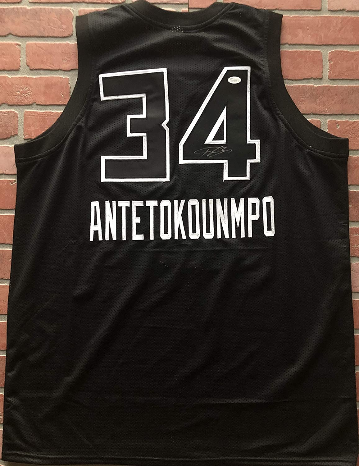 ... order giannis antetokounmpo autographed signed all star jersey nba  milwaukee bucks jsa at amazons sports collectibles 70b825f00