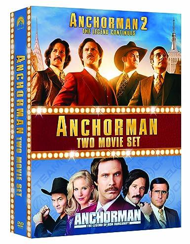 Anchorman 1-2 Box Set Edizione: Regno Unito Italia DVD ...