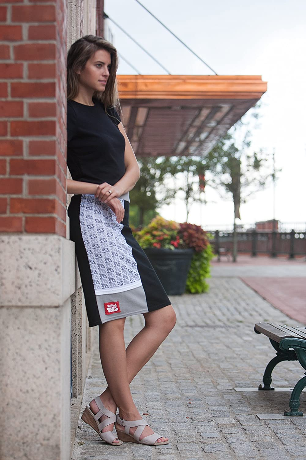Tee-Skirt Mid Length Refried Red Label