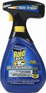 Raid Max Bug Barrier Trigger Starter Kit (30 Ounce (Pack of 1))