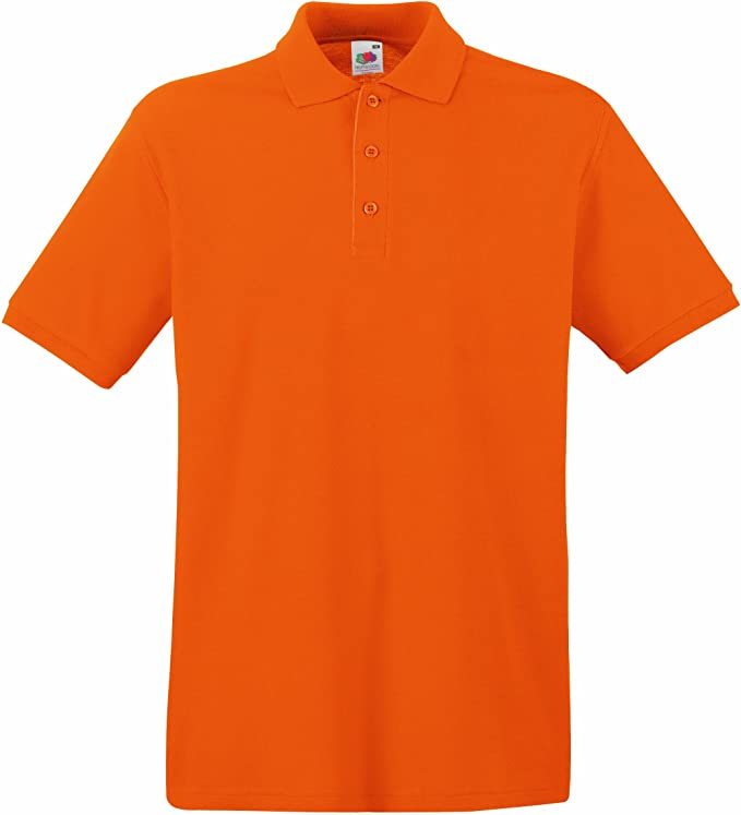 Fruit of the Loom Premium Polo Camisa para Hombre: Amazon.es: Ropa ...
