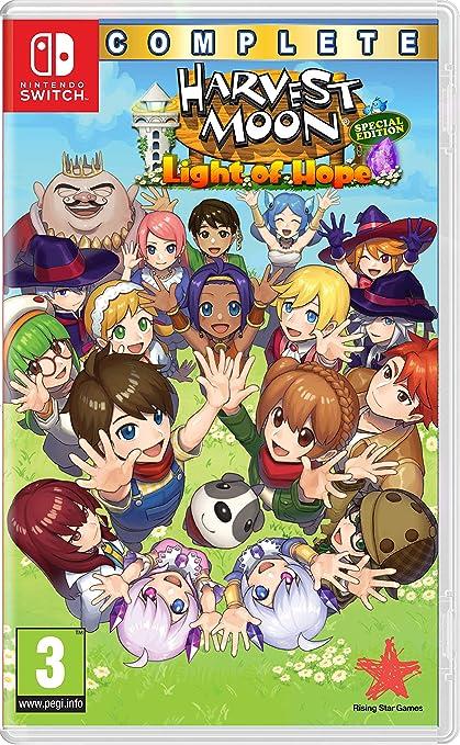 Harvest Moon: Light of Hope - Complete Special Edition: Amazon.es: Videojuegos