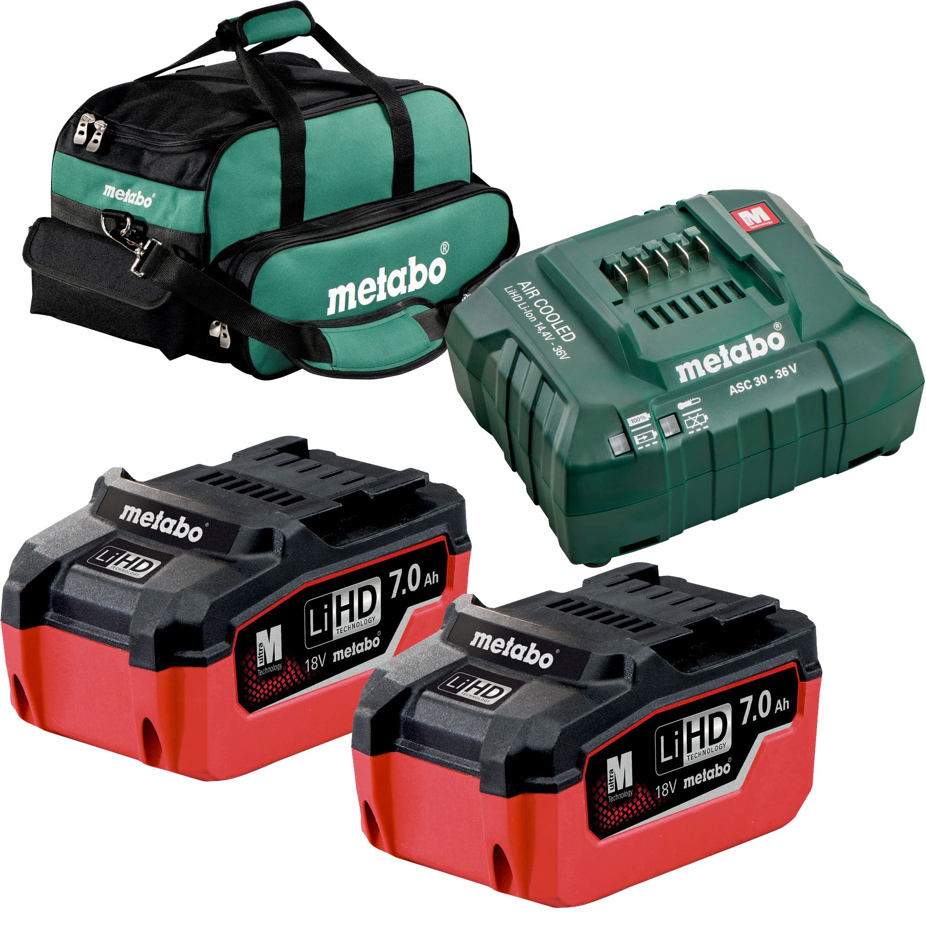 Metabo US625345002 LiHd Ultra-M Pro Cordless Starter Kit w/ 2x 7ah + Charger