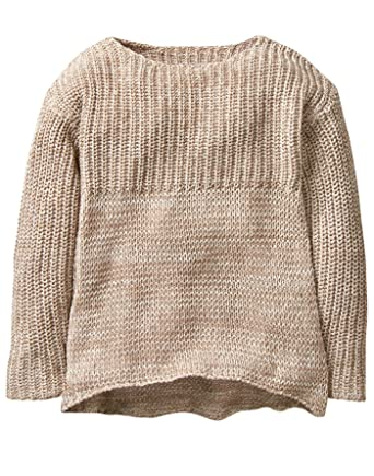 fb23fed075cf73 Amazon.com  Crazy 8 Girls  Little Drapey Knit Pullover Sweater  Clothing