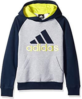 adidas Boys Fleece Blocked Hoodie