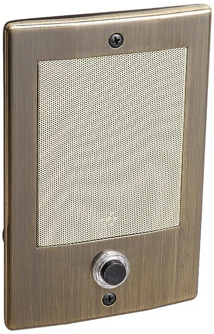 Genial Nutone Door Speaker Ant Brass