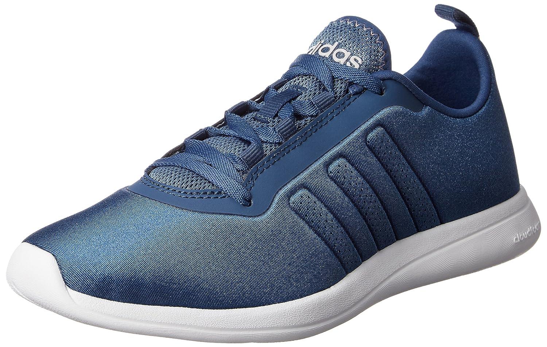 adidas Damen Cloudfoam Pure W Turnschuhe  40 EU|Blau / Wei? (Azucen / Azucen / Griper)