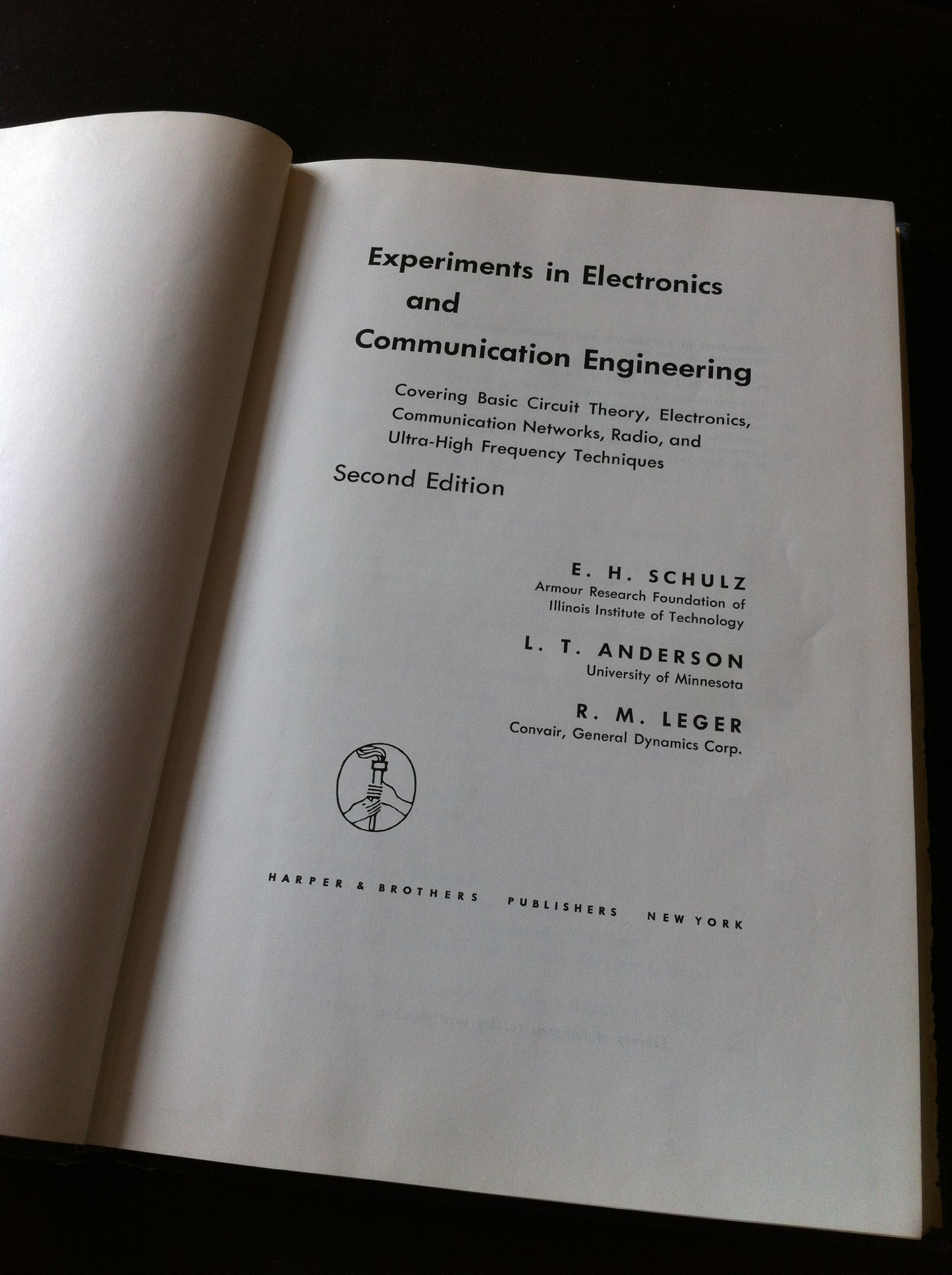 Experiments In Electronics And Communication Engineering Covering Radio Circuit Electronic Design Basic Theory Networks Ultra High