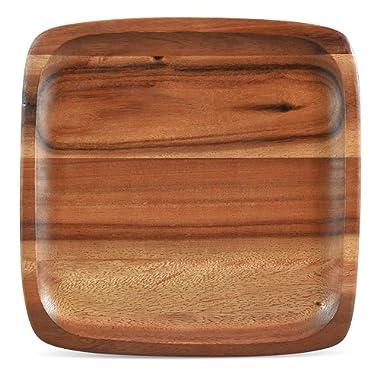 Noritake Kona Wood 12-Inch Square Plate