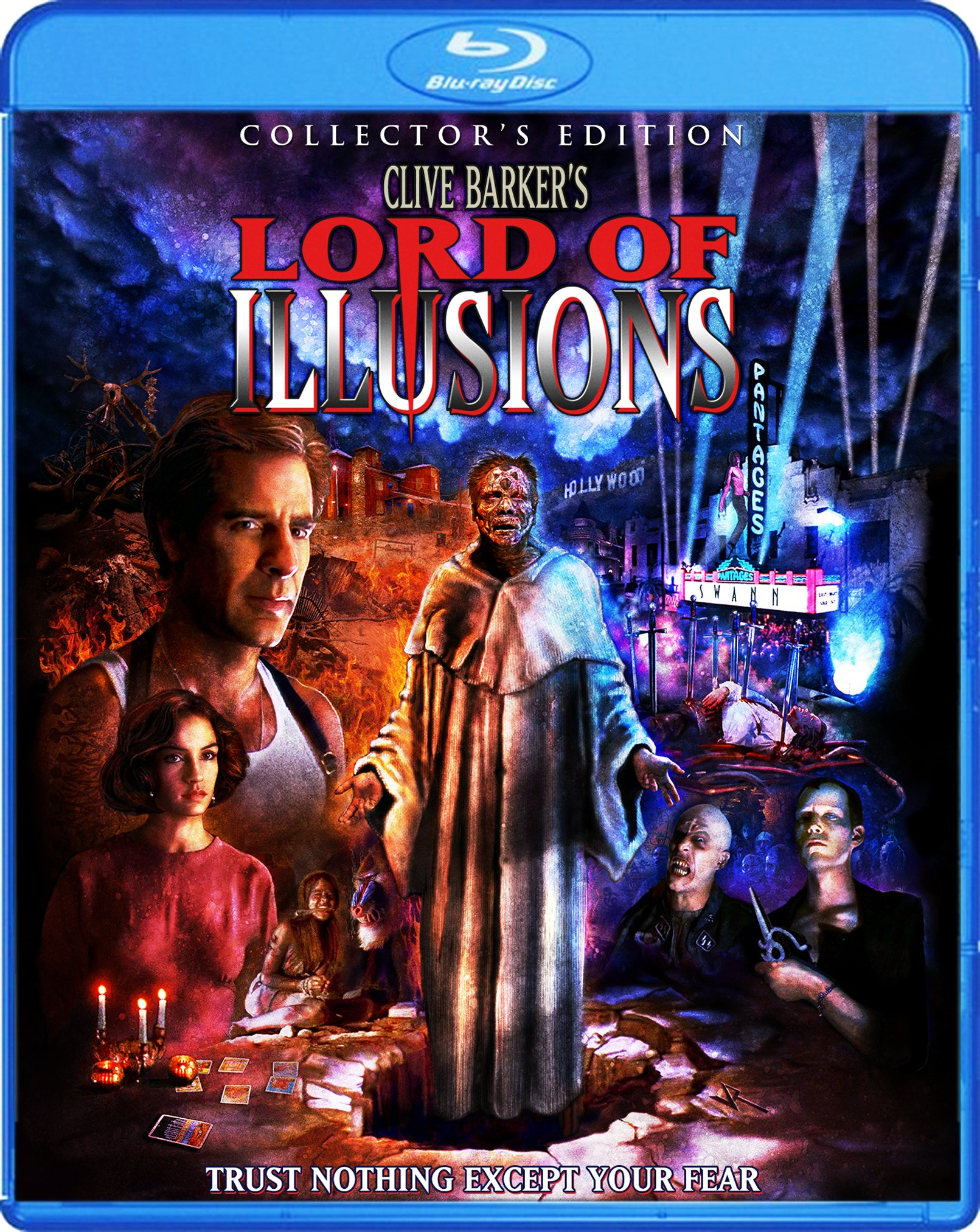 Blu-ray : Lord of Illusions (Collector's Edition) (Collector's Edition, Widescreen, 2 Pack, 2 Disc)