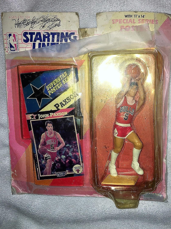 John Paxson 1992 Kenner Starting Lineup Card Chicago Bulls