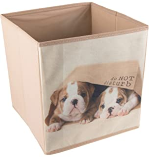 Amazon Com Cute Dog Lying Collapsible Storage Organizer By Clever
