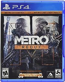 3a9436fbf Metro Redux - PlayStation 4  Square Enix LLC  Video ... - Amazon.com