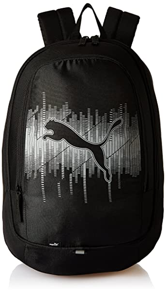 cd10334c76a4 Image Unavailable. Image not available for. Colour  Puma 30 Ltrs  Black-High-Rise Laptop Bag ...