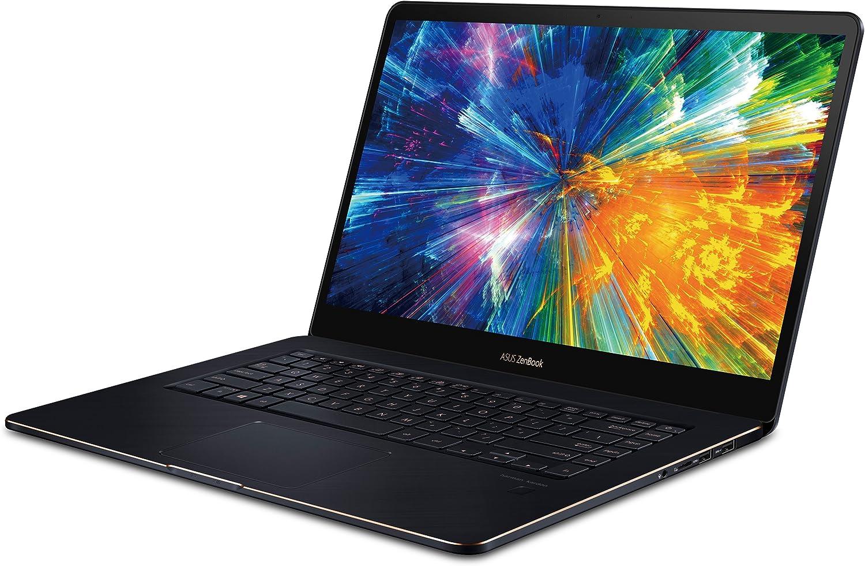 "ASUS UX550GE-XB71T Zenbook Pro 15.6"" UHD 4K Touch Laptop, Intel Core i7-8750HK, 16GB RAM, 512GB SSD, Win10 Pro, GTX1050Ti"
