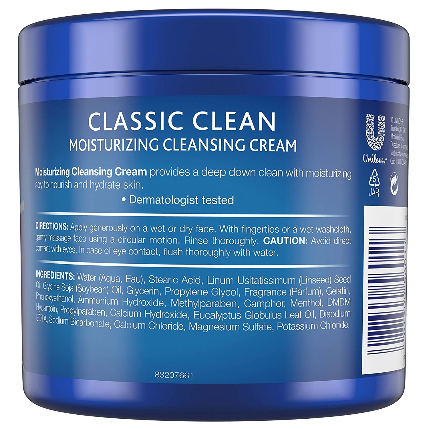 Noxzema Facial Cleanser, Moisturizing Cleansing, 12 oz pack of 6