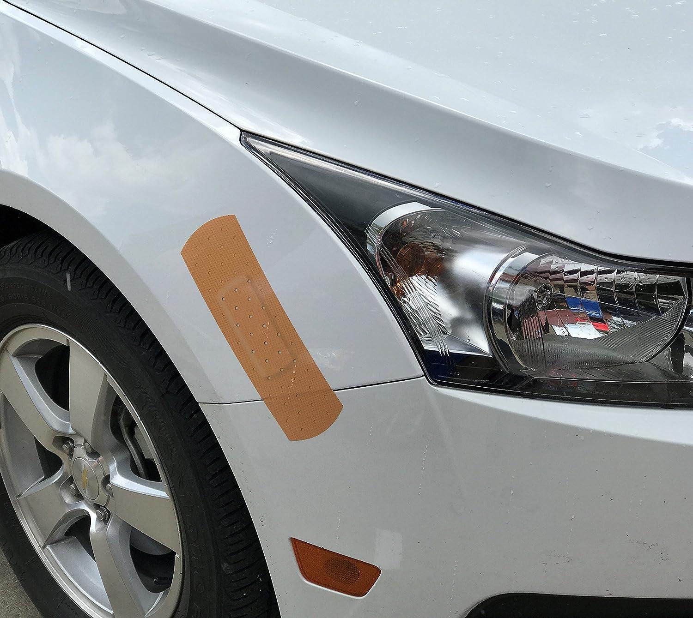 Amazon com stickertalk 10in x 3in bandage cover bumper sticker automotive