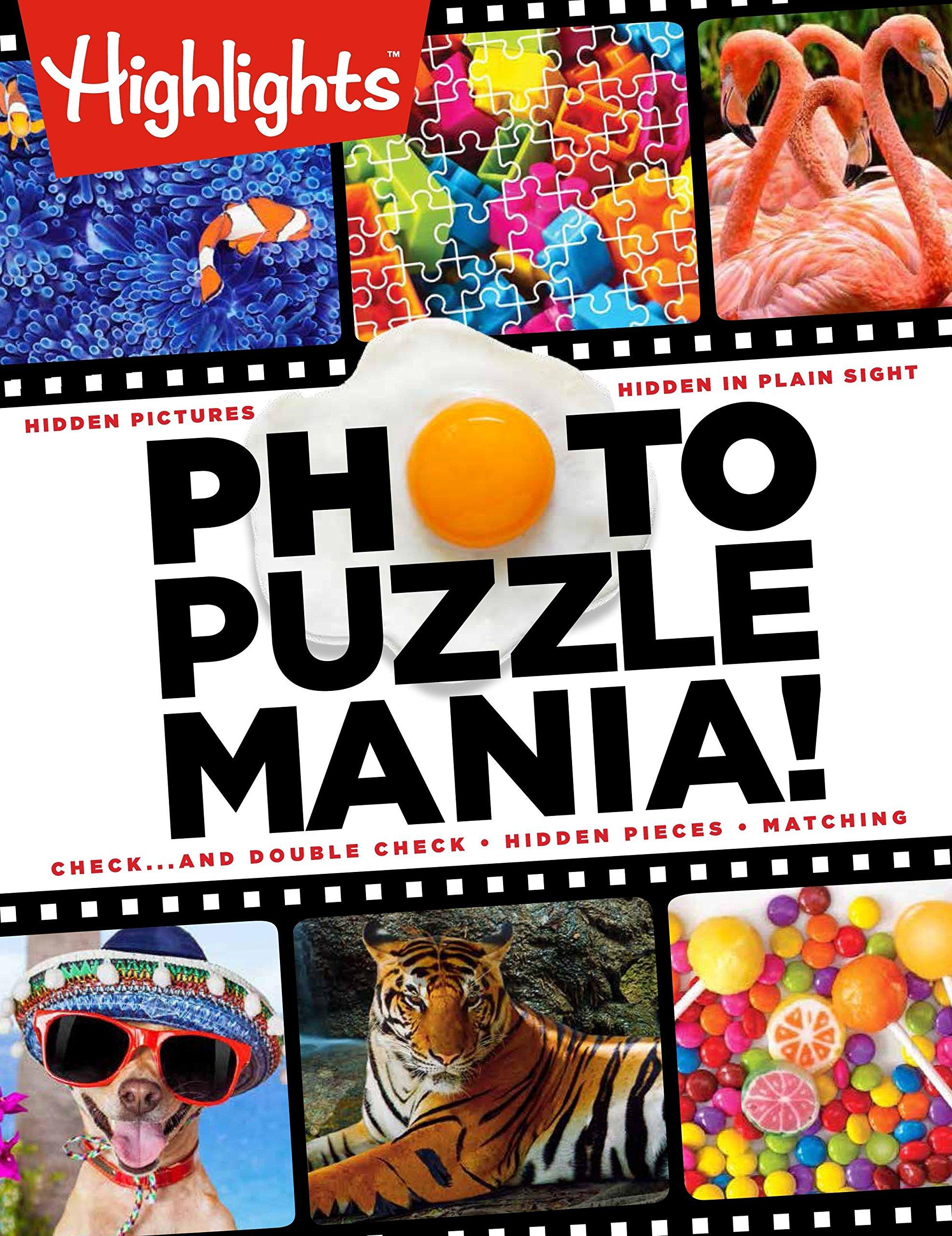 Photo Puzzlemania!(TM) (Highlights Photo Puzzlemania Activity Books)