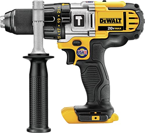 DEWALT 20V MAX Hammer Drill, 1 2-Inch, Tool Only DCD985B