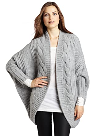 Vince Camuto Womens Cable Cocoon Cardigan Sweater f654c8352