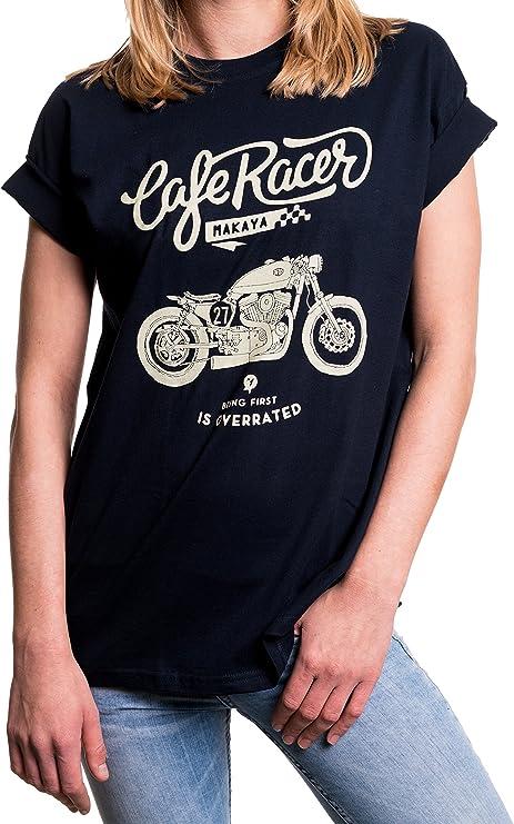 camisetas café racer para mujer