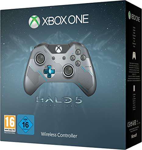 Microsoft - Mando Wireless - Edición Limitada, Halo 5 (Xbox One ...