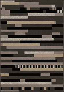 "product image for Orian Rugs 2004 Nuance Rhythm Area Rug, 5'3"" x 7'6"", Earl Grey"