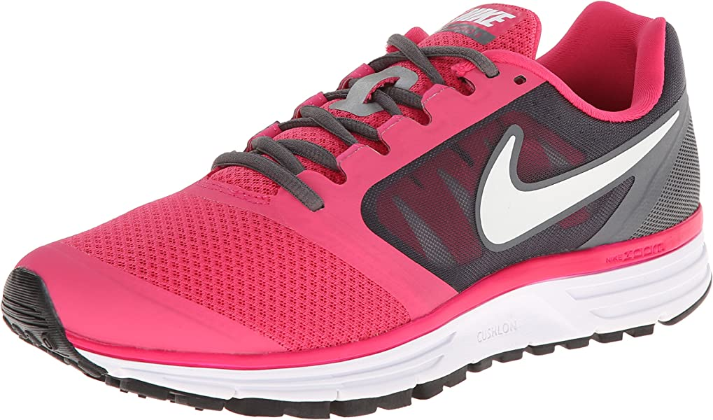2cdda6882bed Nike Women s ZOOM VOMERO+ 8 WMNS RUNNING SHOES 9.5 Women US (PINK  FORCE WHITE