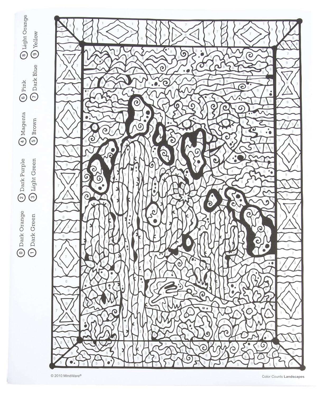 Landscapes MindWare 48151W Color Counts